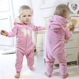 2019 Fall Winter Warm Infant Baby Rompers