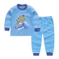 Baby Clothes Suit Baby Boy Underwear Baby Girl Long Sleeve Home Wear Suit