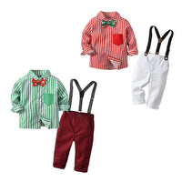 Christmas boy kids clothes