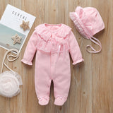NEW Baby Girl Clothes Toddler Bow/Flowers Romper Clothing Set