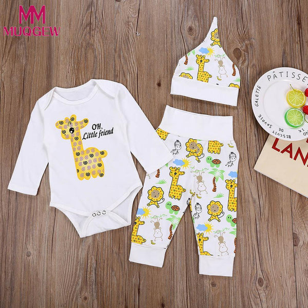 Infant Newborn Toddler Baby Girls Boys Clothes