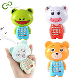 Cute Electronic Toy Phone Musical Mini Children Phone Toy