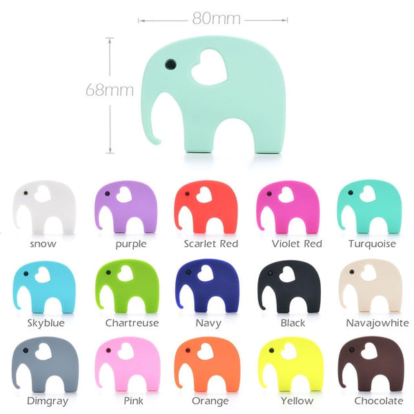Wholesale 10pcs/lot Baby Teether Silicone Teething Accessory
