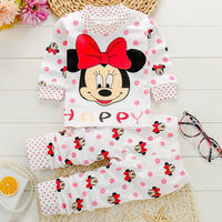 Christmas Clothes Baby Boy Clothes Autumn Winter New Cartoon Girl Clothing Set
