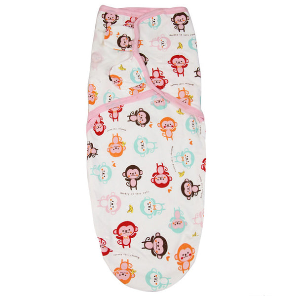 Newborn Baby Swaddle Wrap Parisarc 100% Cotton