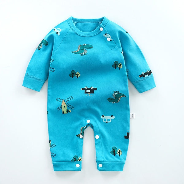 Baby Clothes  Newborn Baby Romper Infant Baby Boys Girls Long Sleeve Cartoon Bear Rompers Jumpsuit Clothes Overalls For Children