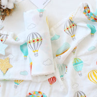 Muslin Baby Blanket Cotton Bamboo Super Soft Baby Swaddle For Newborns