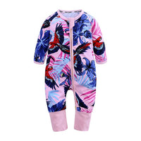 Summer Baby Boy Romper Newborn Jumpsuit Long Sleeve Cotton Cartoon Print Pajamas 0-24 Months Unisex Rompers Baby Clothes BBR2280