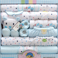 18 piece Newborn Baby Girl Boy Clothing Set 100% Cotton
