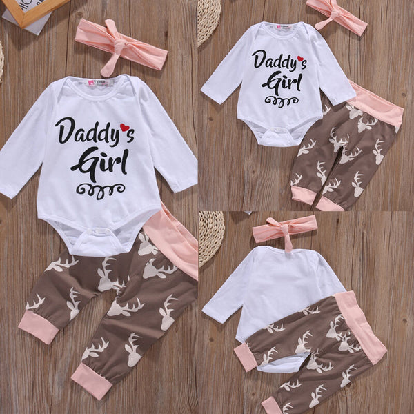 Pudcoco Baby Girl Suit 0-18M Newborn Infant Baby Girls Clothes