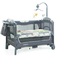 Valdera multifunctional folding baby bed
