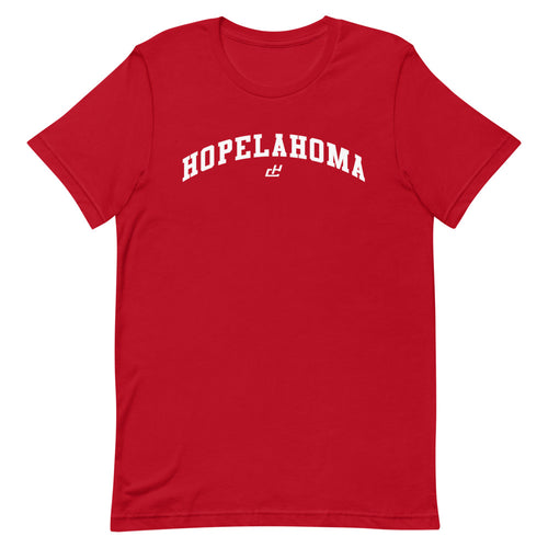 HOPELAHOMA TEE RED