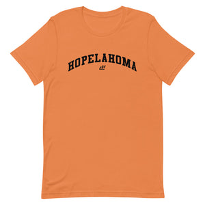 HOPELAHOMA TEE ORANGE