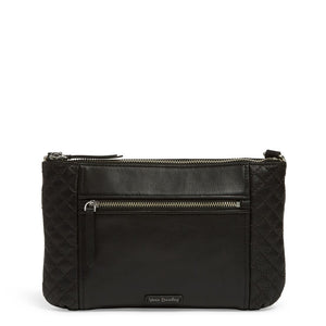 CarryAll Small Crossbody Black Leather