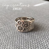 April Spoon Ring Size 6