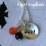 eek! Halloween Necklace