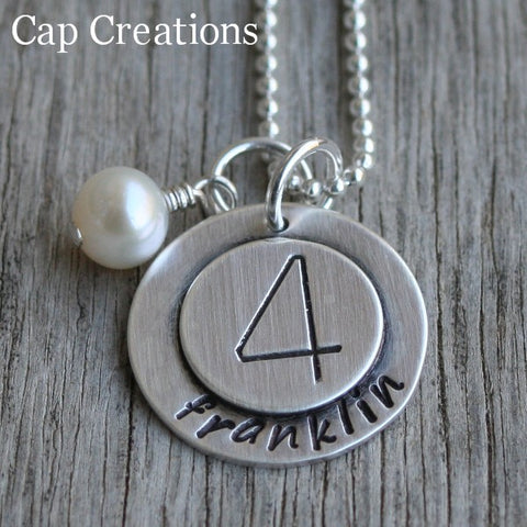 Family Party Size Necklace