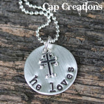 Small Cross (Personalized)