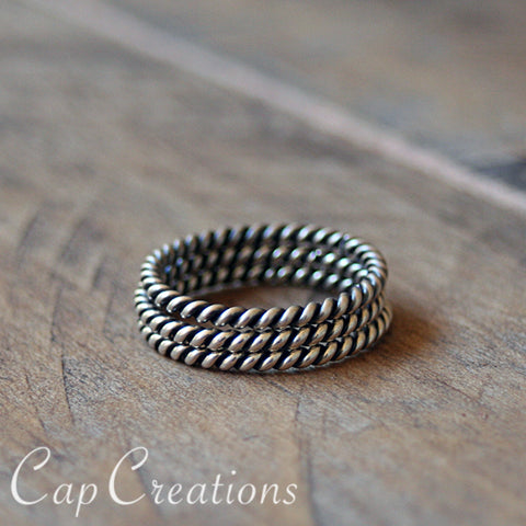 Stacking Twist Rings