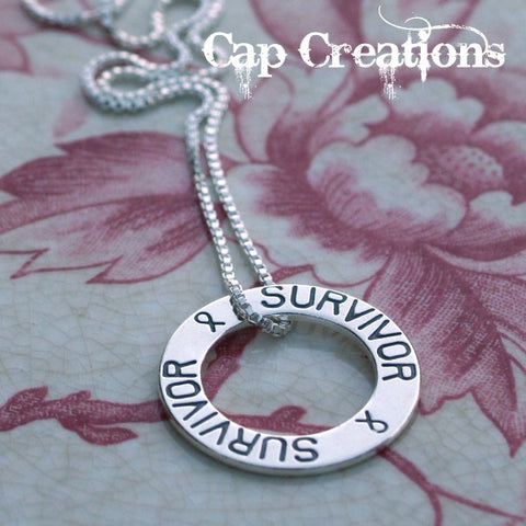 Survivor/Awareness Ribbon Necklace