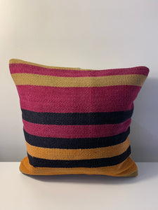 Wool Stripe Pillow Cover