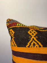 Load image into Gallery viewer, Wool Patchwork Pillow Cover