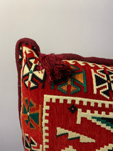 Load image into Gallery viewer, Wool Tribal Pillow Cover