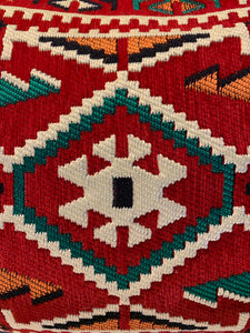Wool Tribal Pillow Cover