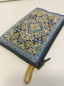 Zippered Tapestry Pouch