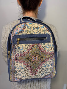 Denim Blue Back Pack