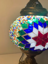 Load image into Gallery viewer, Mosaic Tower Table Lamps