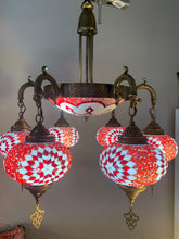 Load image into Gallery viewer, Mosaic Glass Chandeliers