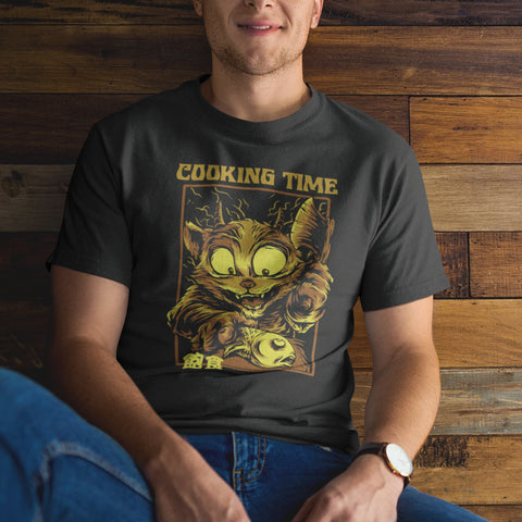 Remera - COOKING TIME - MOKAP