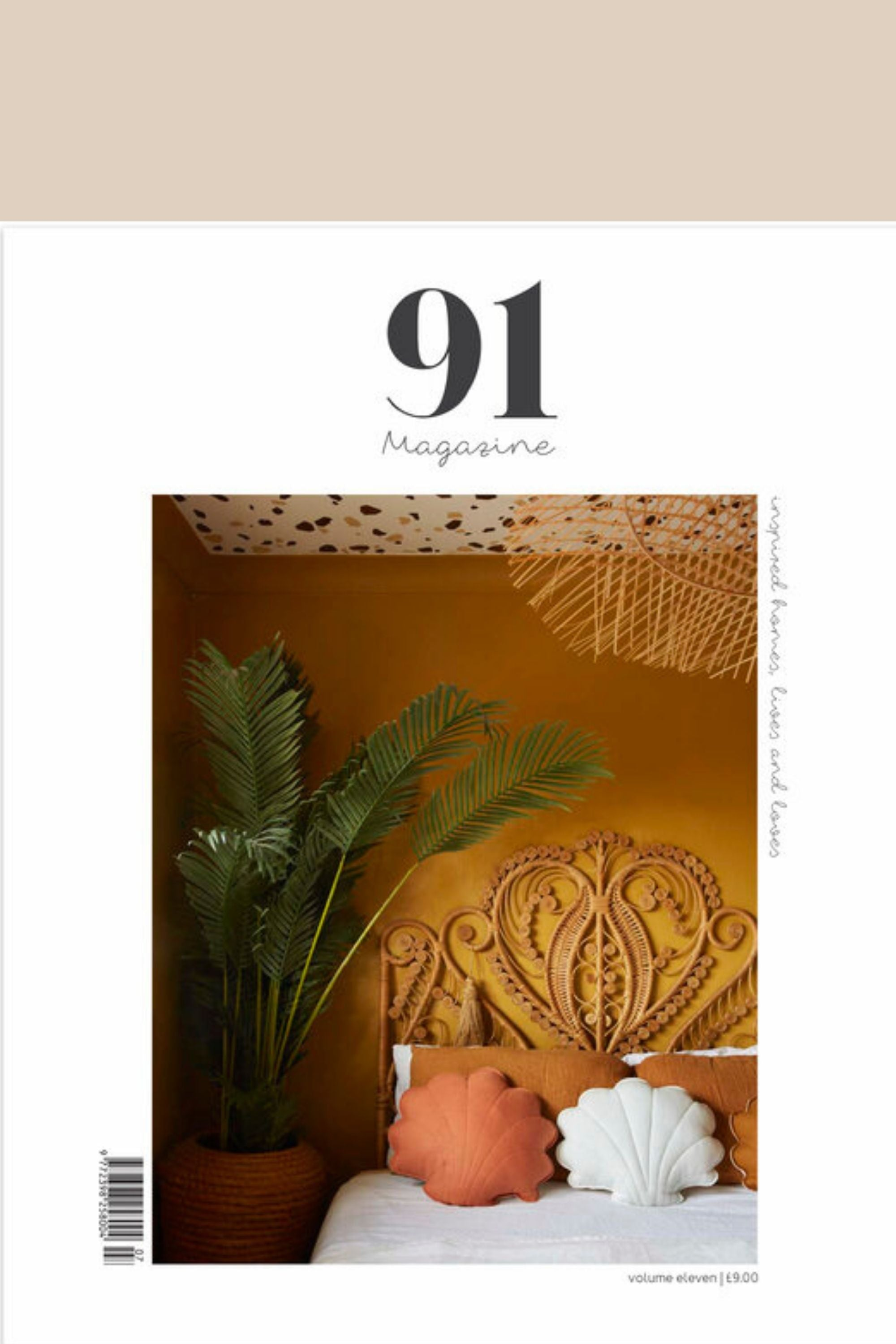 91 Magazine Homes and Interiors volume 11 cover