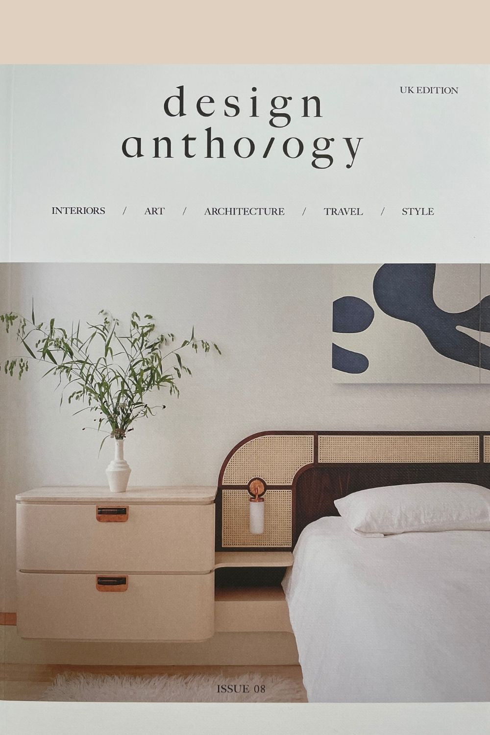 Front cover of issue 8 of Design Anthology UK