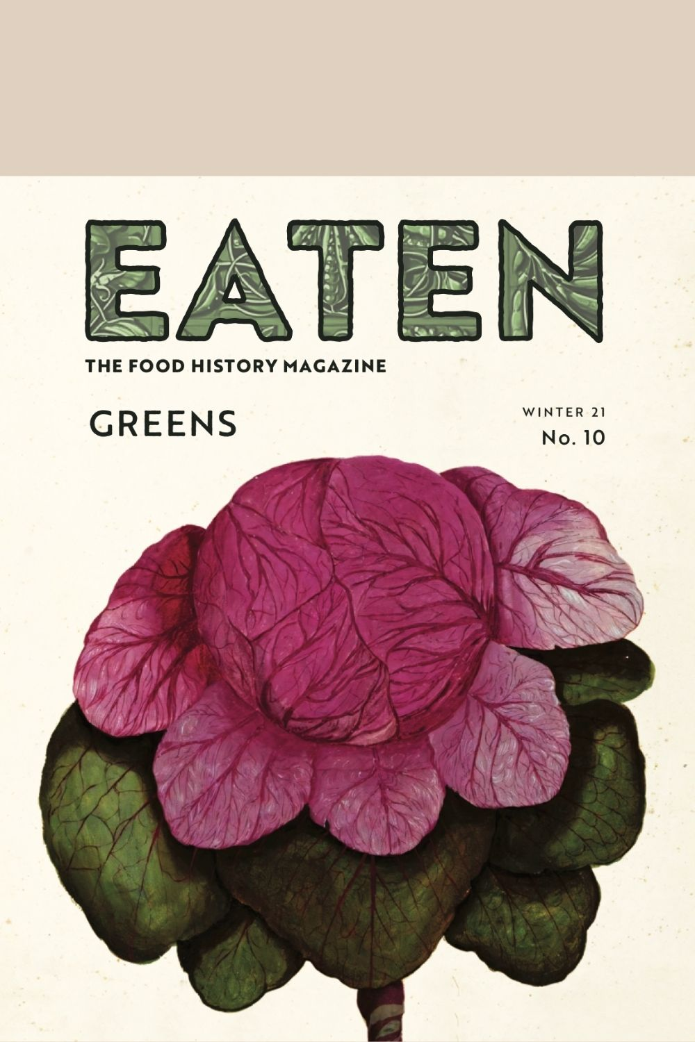 Front cover of issue 10 of Eaten, the food history magazine on the Pics & Ink shop
