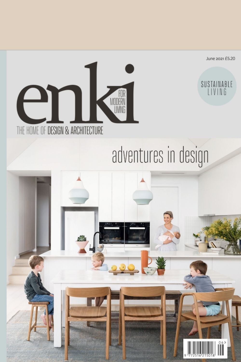 Front cover of Enki Magazine Issue 35 at Pics & Ink