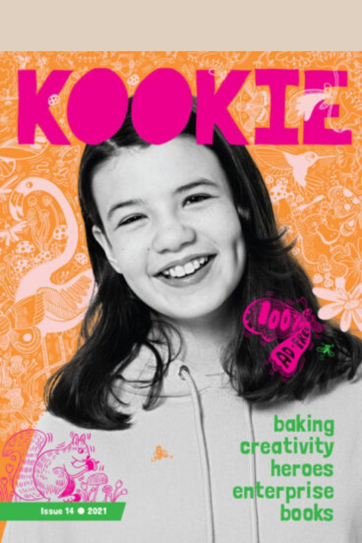 Kookie Issue 14 - a kid's magazine aimed at girls