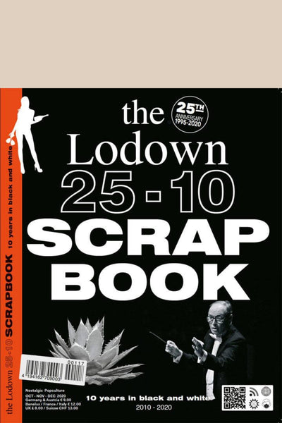 The Lodown 25-10 Scrapbook issue front cover