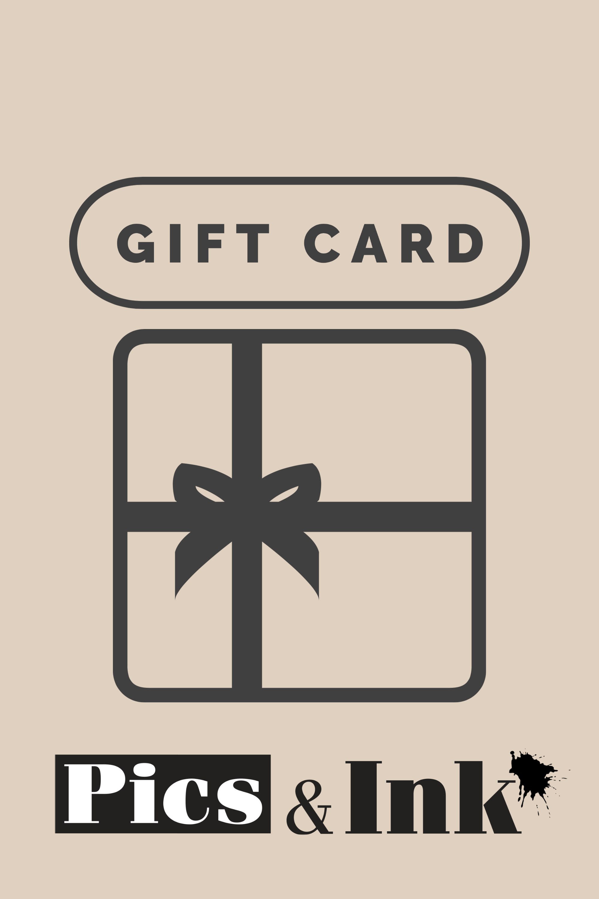 Pics & Ink Gift Card