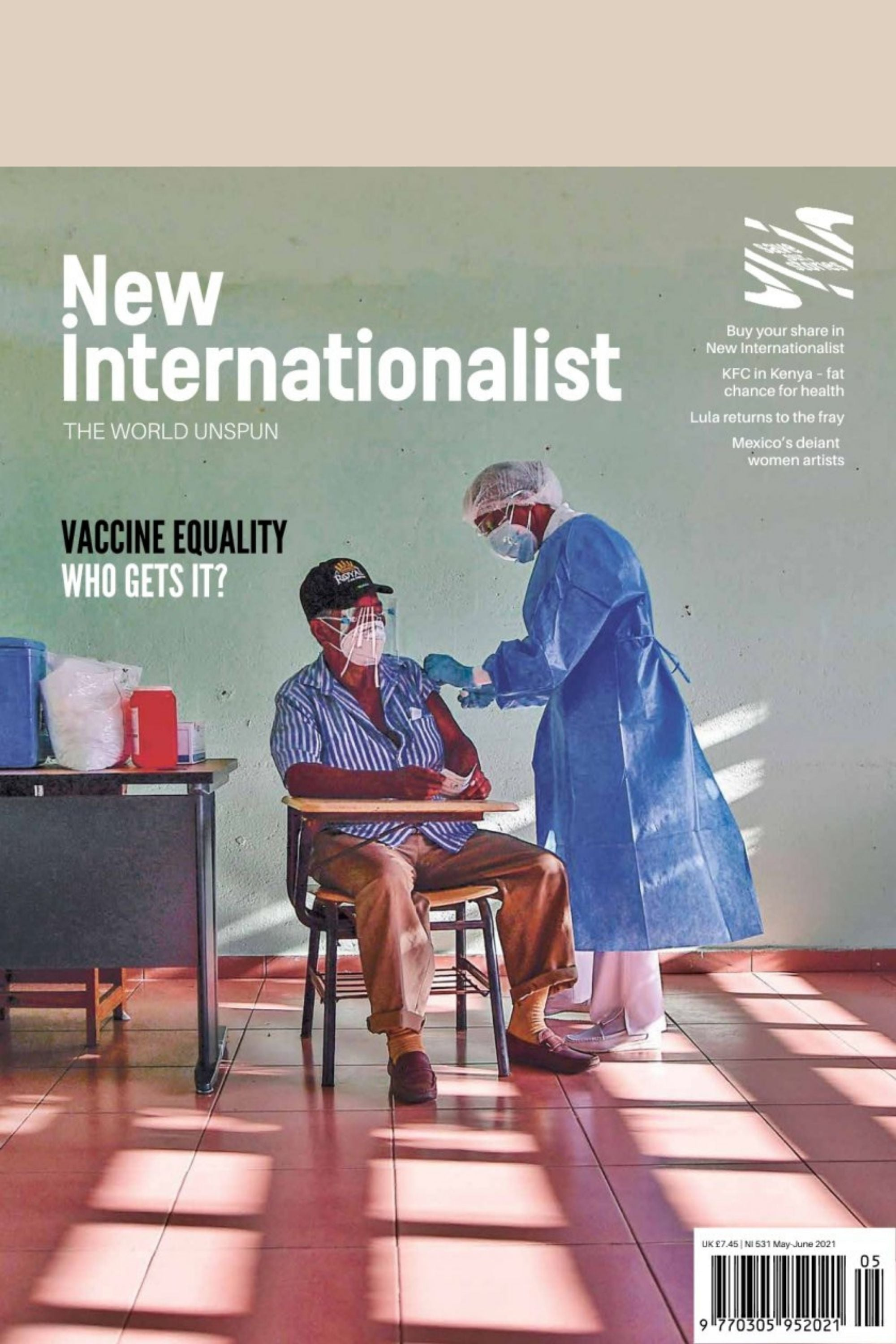 Front cover of New Internationalist mag issue 531