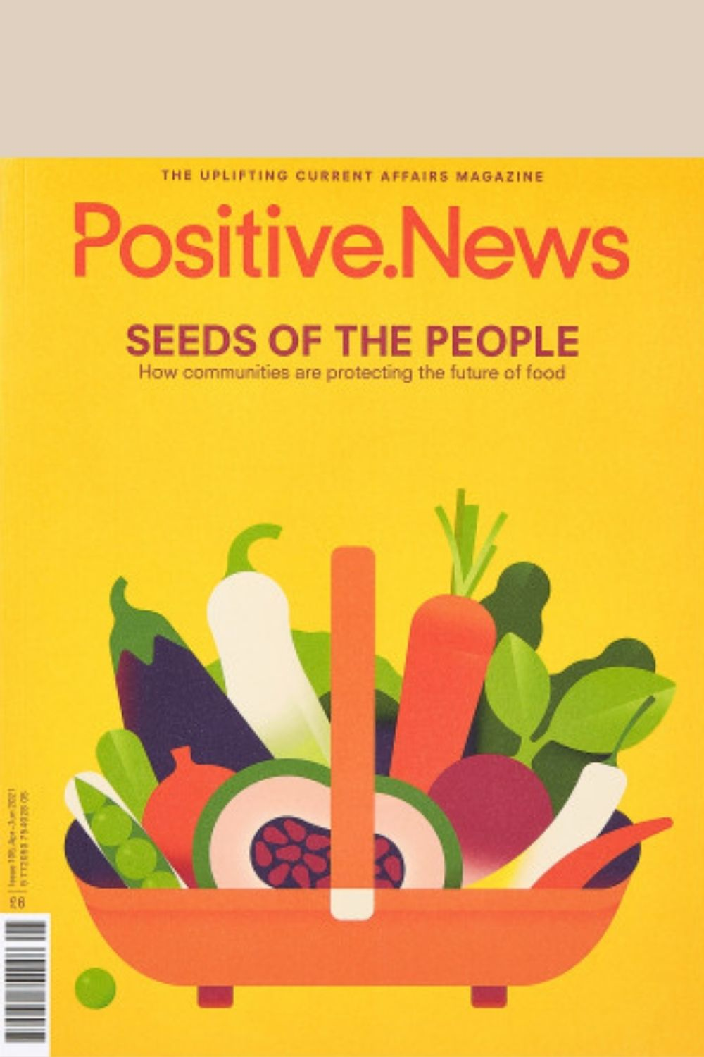 Positive News Issue 105 cover Seeds of The People