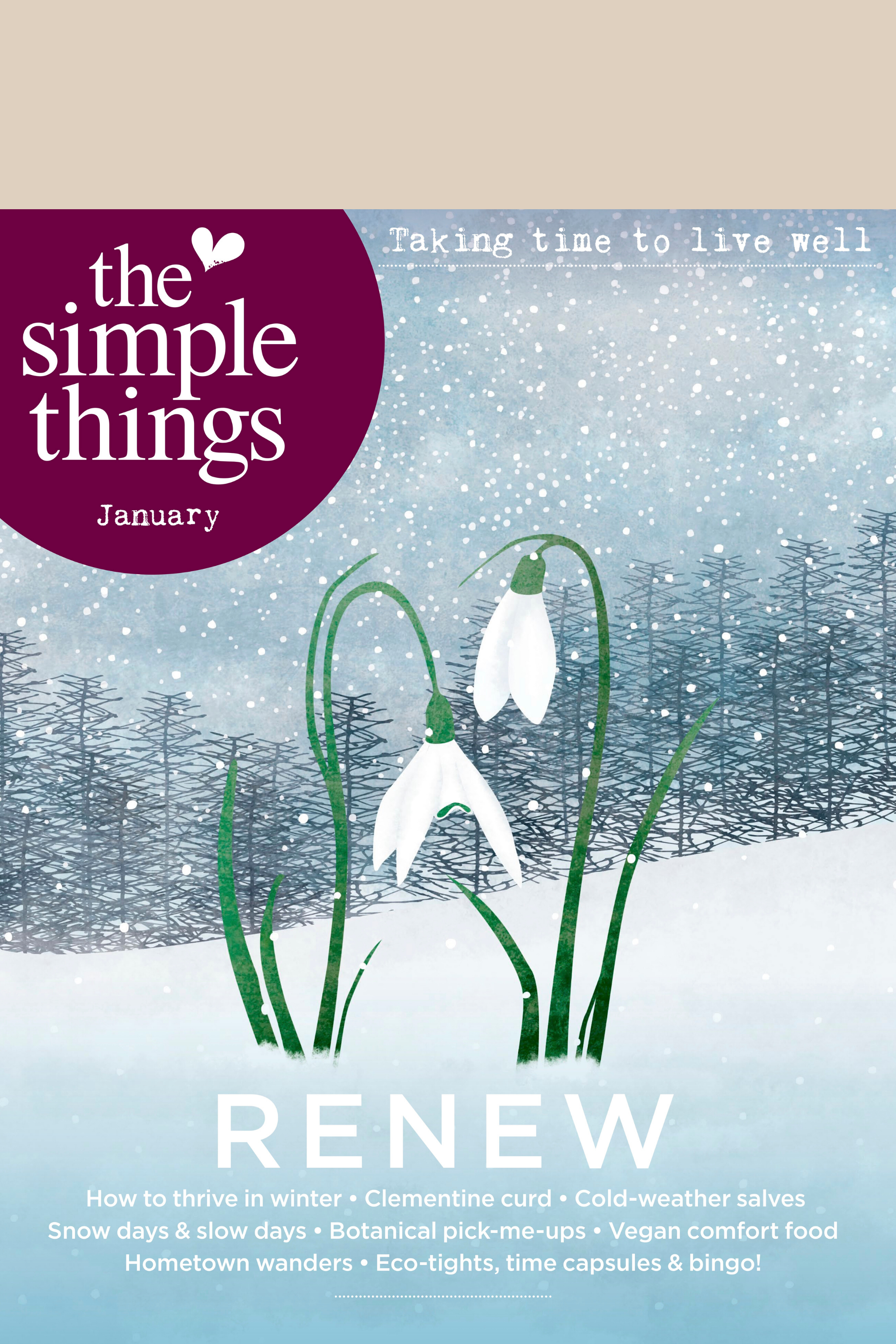The Simple Things issue 91 January
