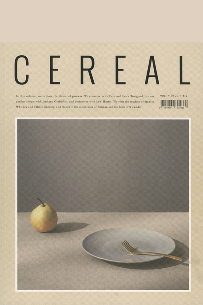 Cereal Issue 17 S/S 2019