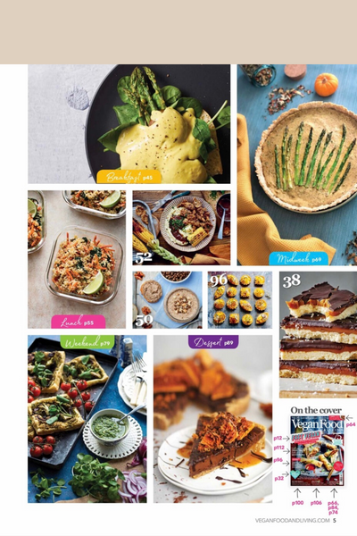 Vegan Food & Living May 2020 Issue