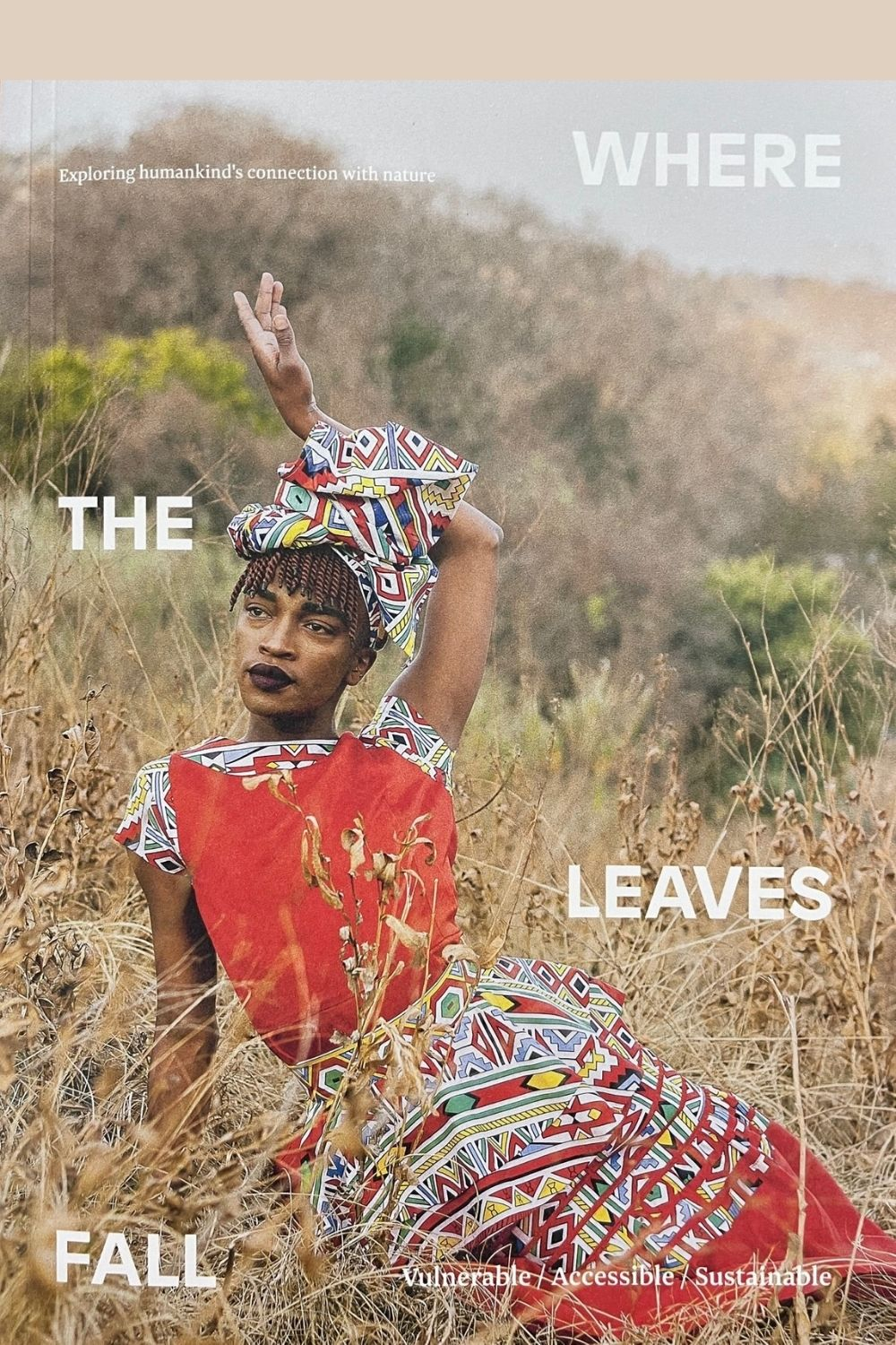 Front cover of Where The Leaves Fall Issue 6