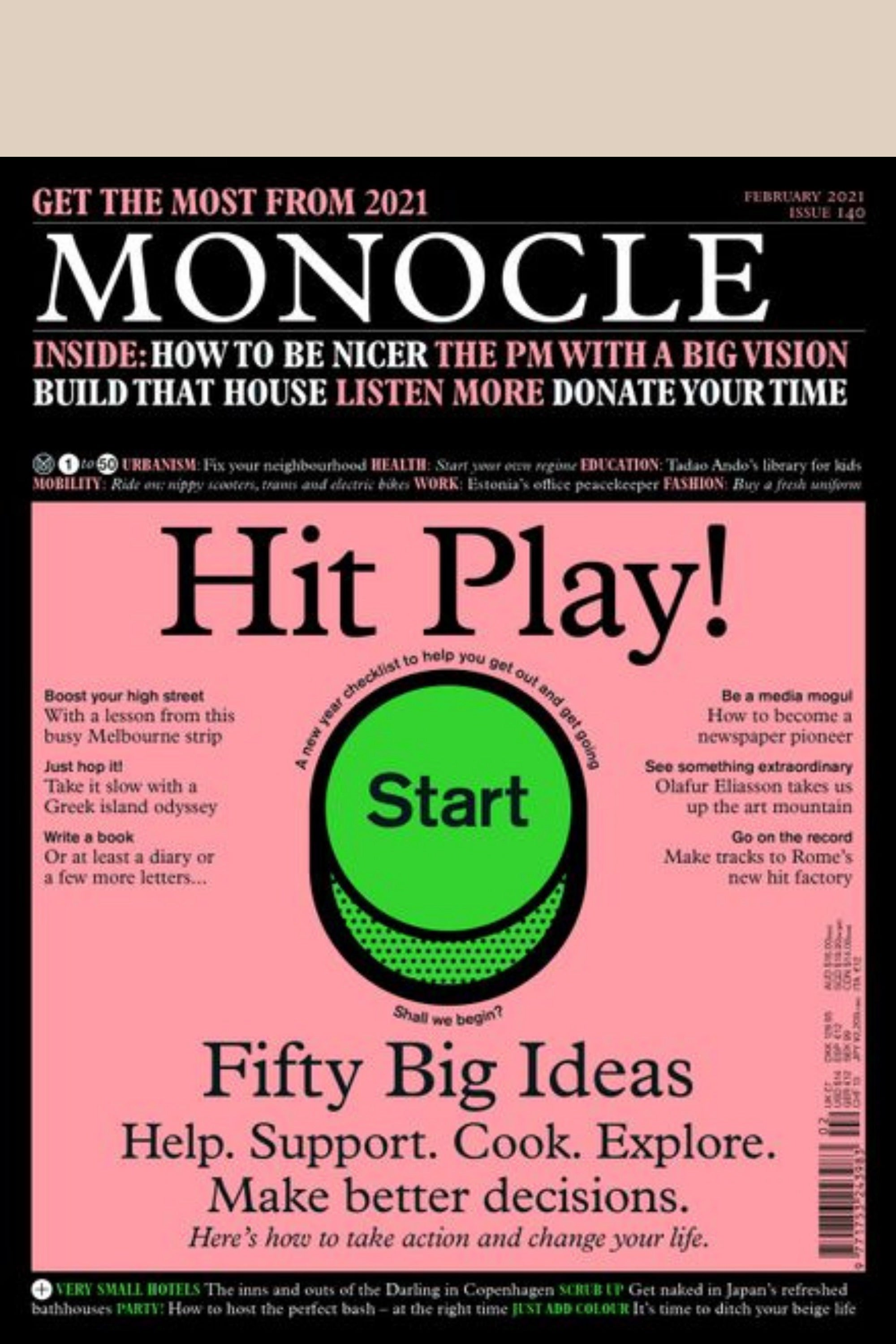 Monocle Issue 140 February 2021