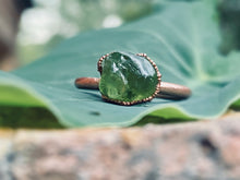 Load image into Gallery viewer, Green Peridot Ring