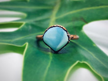 Load image into Gallery viewer, Blue Peruvian Opal Engagement Ring