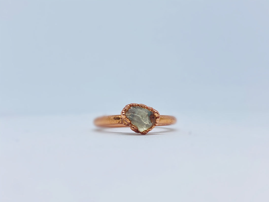 Raw Quartz Ring
